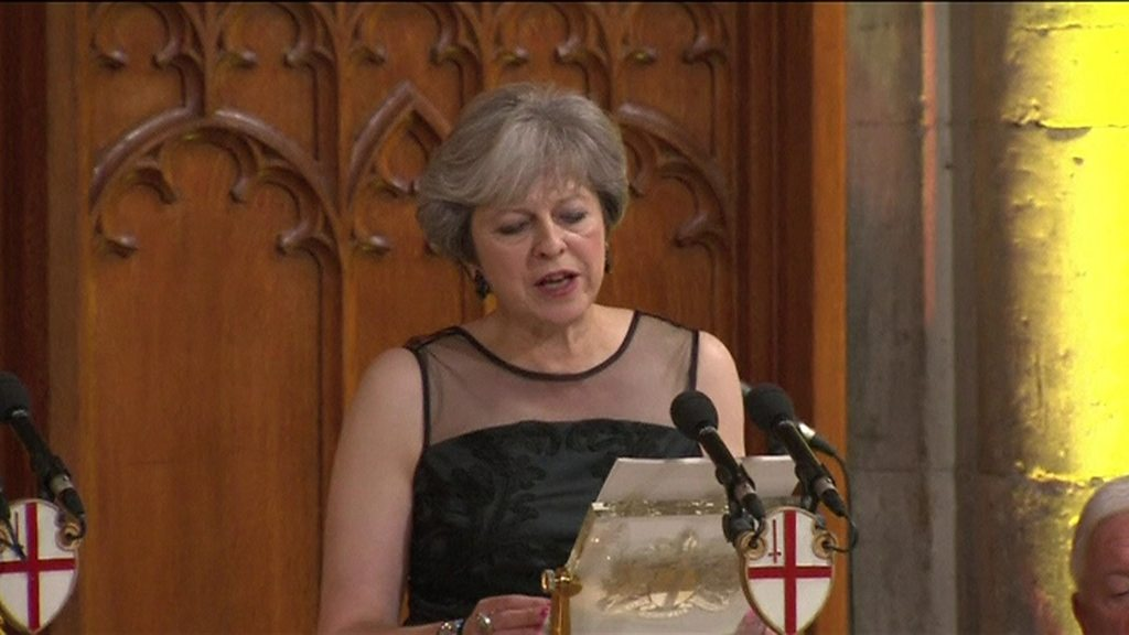 UK Prime Minister May accuses Putin of election meddling