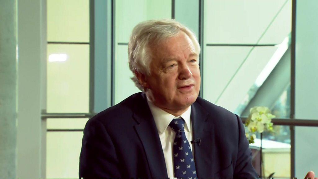 Davis: We have compromised in EU talks
