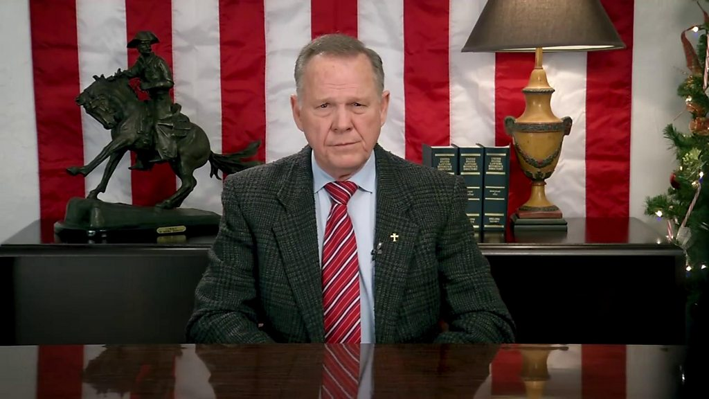 Roy Moore says Alabama election 'tainted'