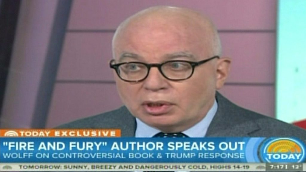 Trump seen as a child by staff, says Fire and Fury author ...
