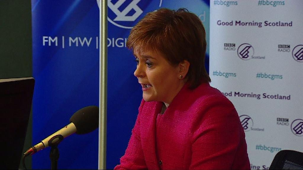Sturgeon: 'No Brexit better than no deal'