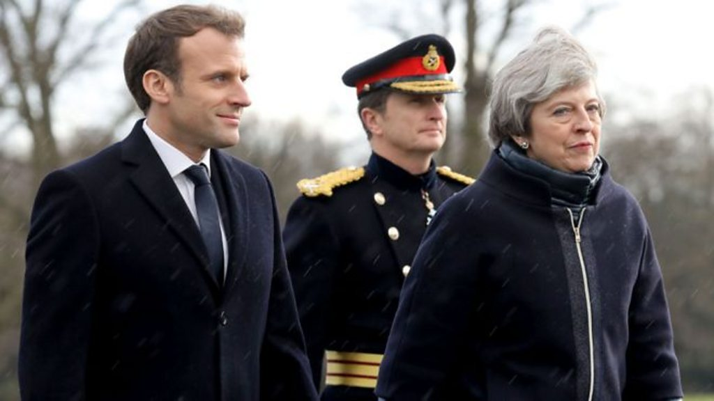 UK and France sign Calais migrant treaty