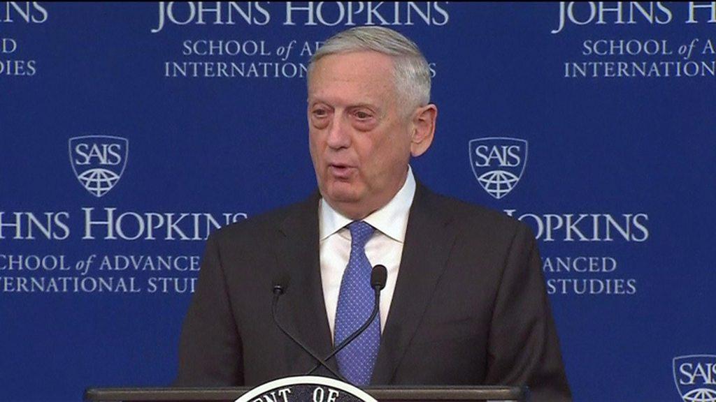US security focus 'no longer terrorism'