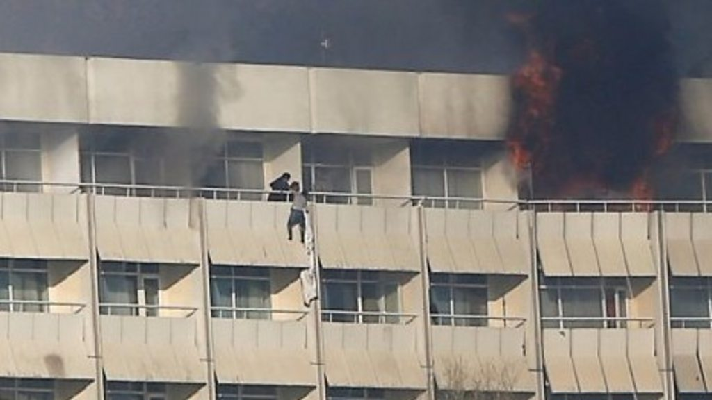 p05vlp9d - Gunmen'shot Afghan hotel diners'