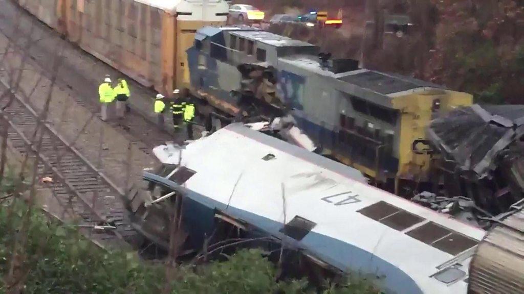 Scene of the crash in Cayce, South Carolina
