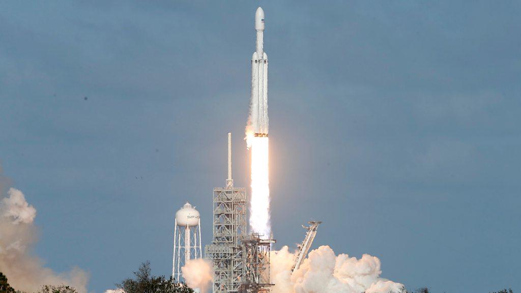 Elon Musk's Falcon Heavy rocket launches successfully