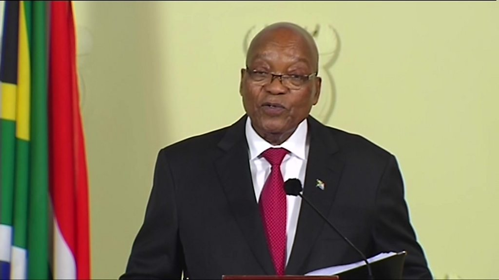 Zuma bows to party pressure and quits