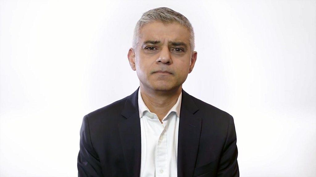 London Mayor Sadiq Khan speaks out about racist abuse ... Sadiq Khan