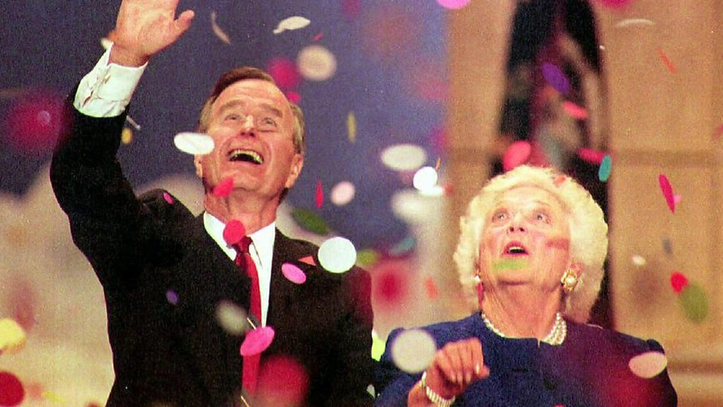 Former First Lady Barbara Bush dies at 92