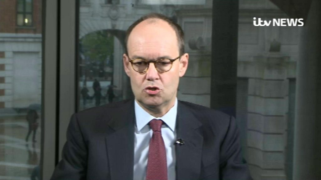 Sainsbury's boss sorry for singing We're in the Money ...