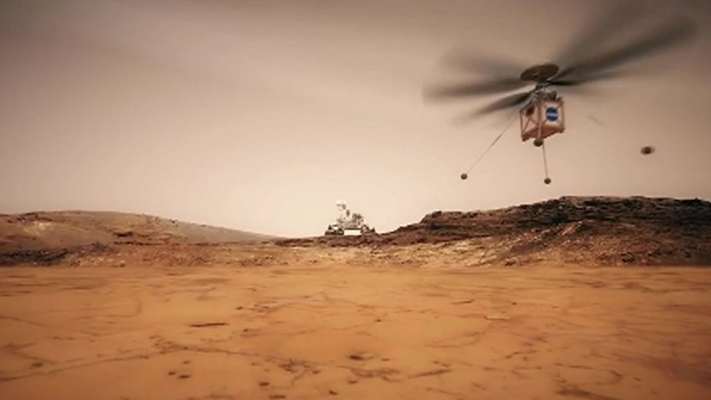 Nasa will send helicopter to Mars to test otherworldly flight