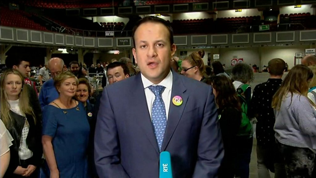 Ireland abortion referendum: PM hails