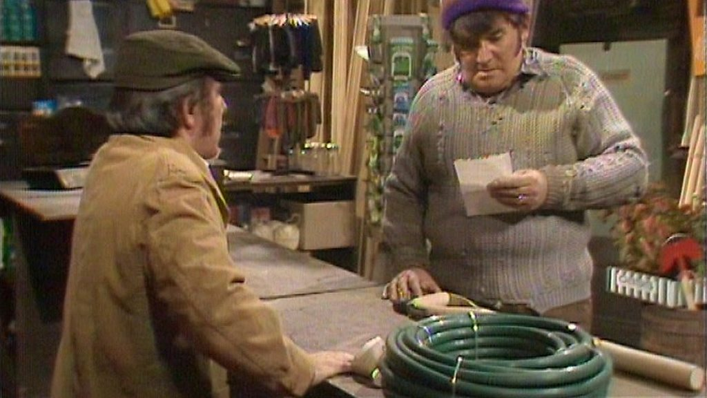 Two Ronnies 'four candles' script sells for £28,000 - BBC News