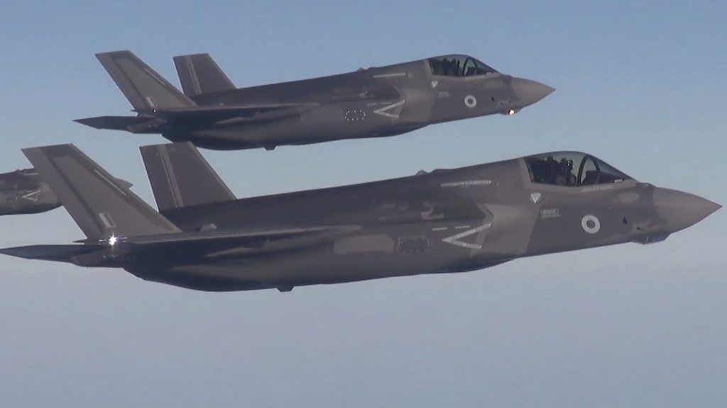 F-35 fighter jets join fight against IS