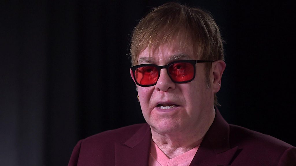 Sir Elton John urges social media boycott over hate speech