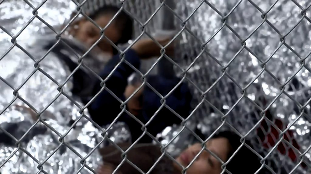 The health impact of separating migrant children from parents - BBC on