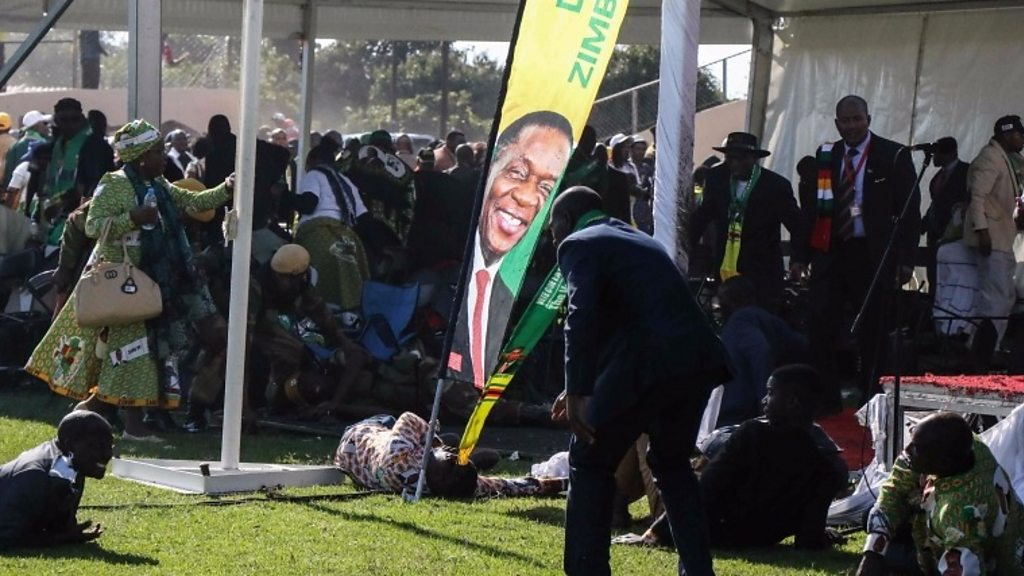 Zimbabwe election 'to go ahead as planned' after blast