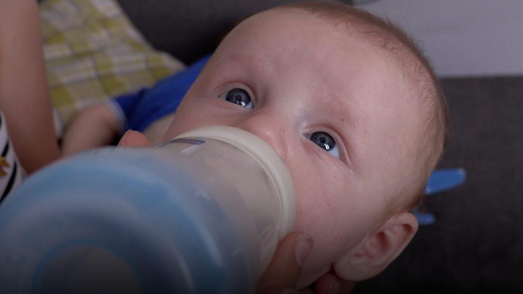 'New milk formula made my baby sick'