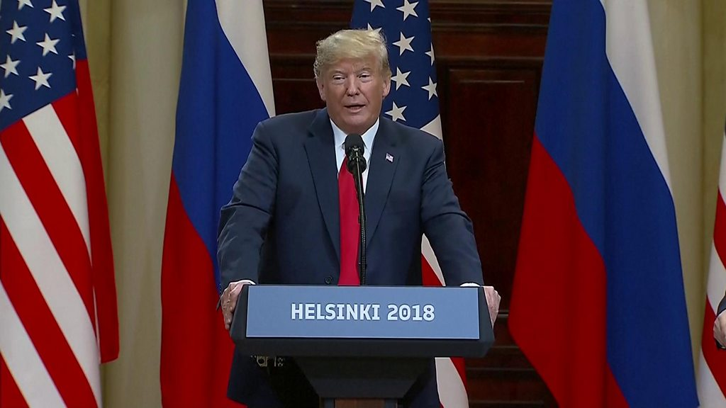 Trump sides with Russia against FBI