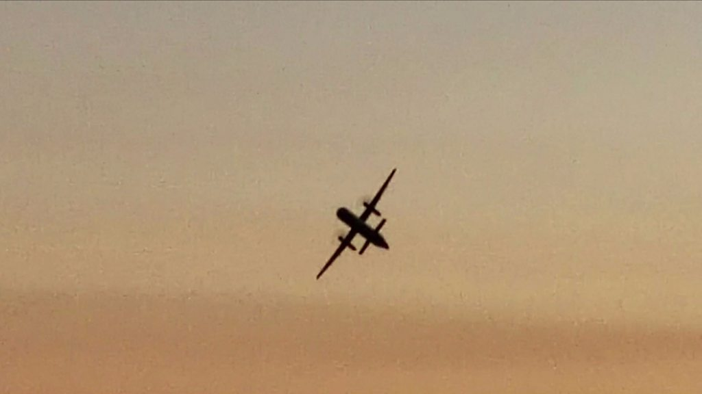 Stolen plane closes Seattle-Tacoma airport before crashing