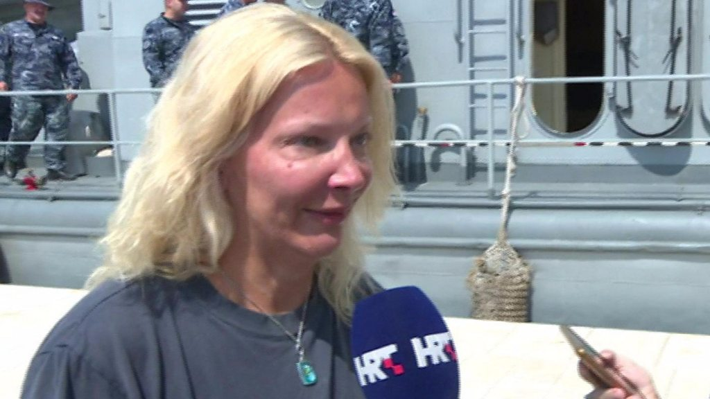 UK woman rescued after 10 hours at sea