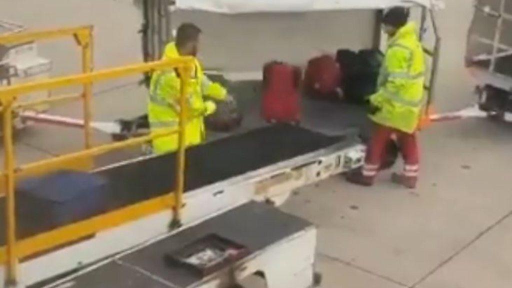 Crackdown on 'rough' baggage handling