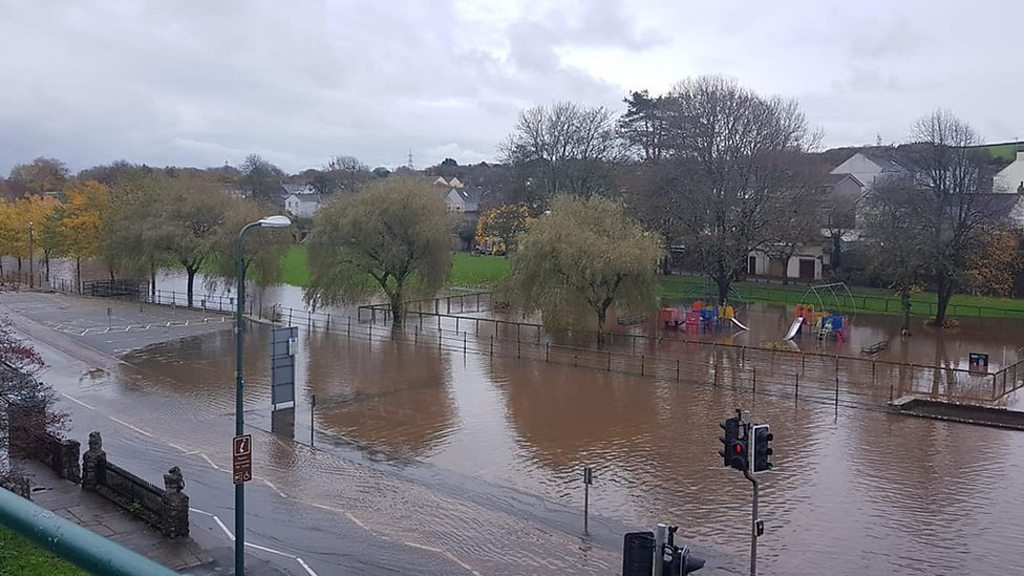 Roads and homes flood as more rain due
