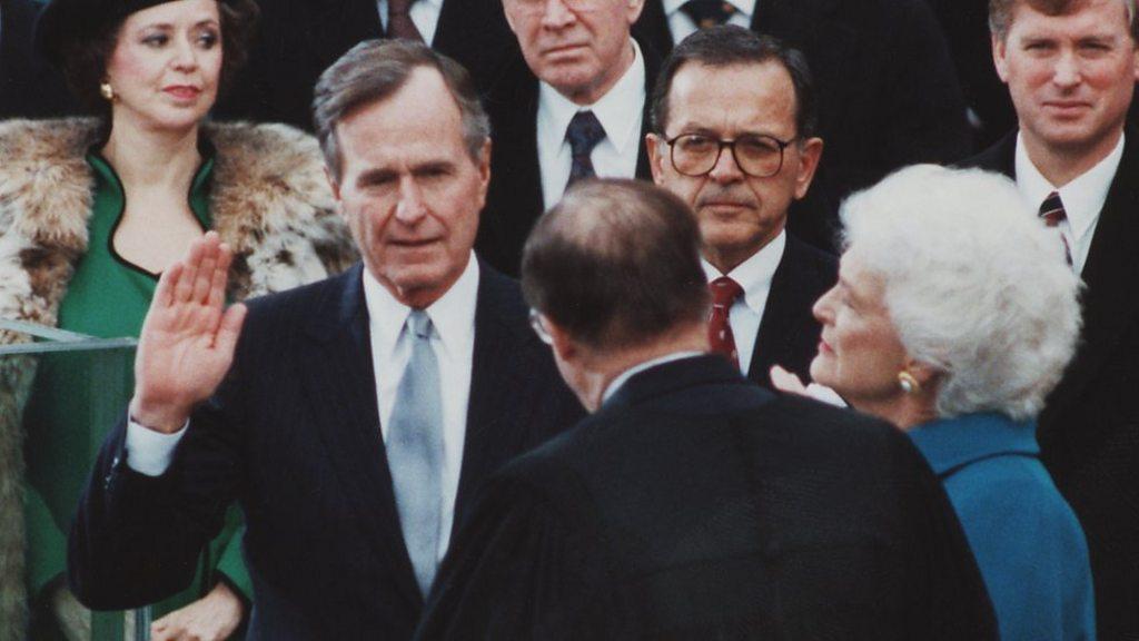 George Bush Senior Dies At The Age Of 94 Bbc News