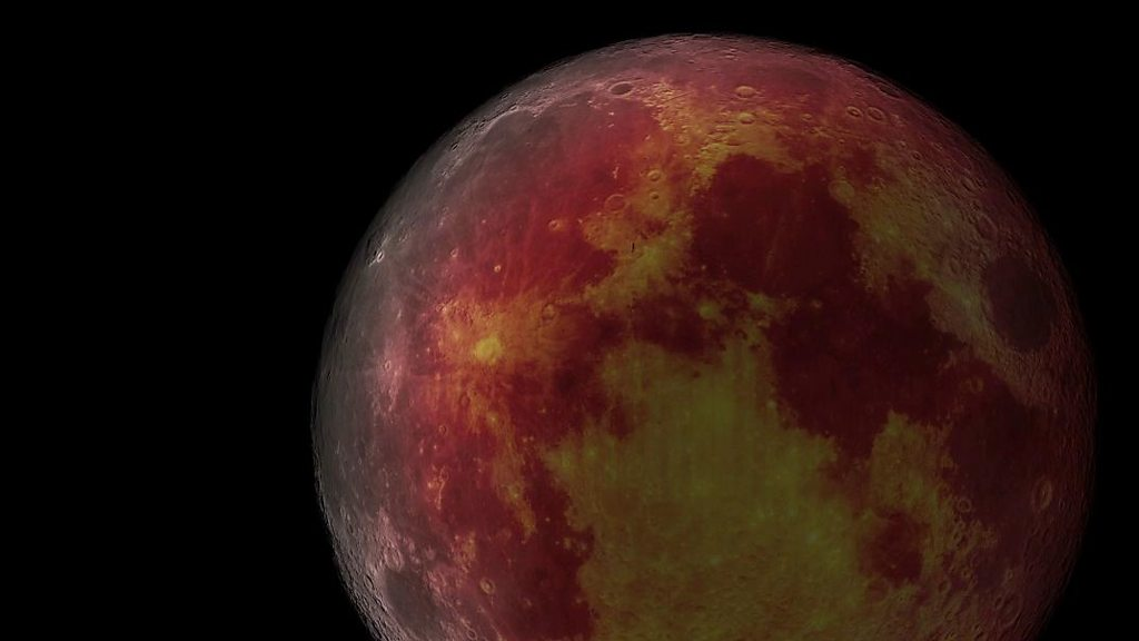 A chance to gaze at a 'ghostly' red moon