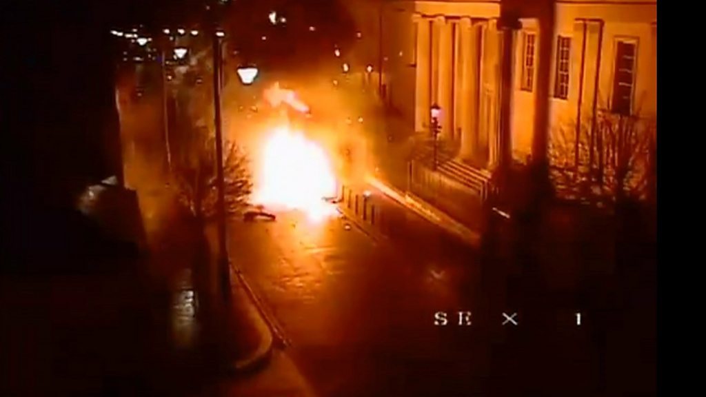 Londonderry bomb: Court remains closed after explosion