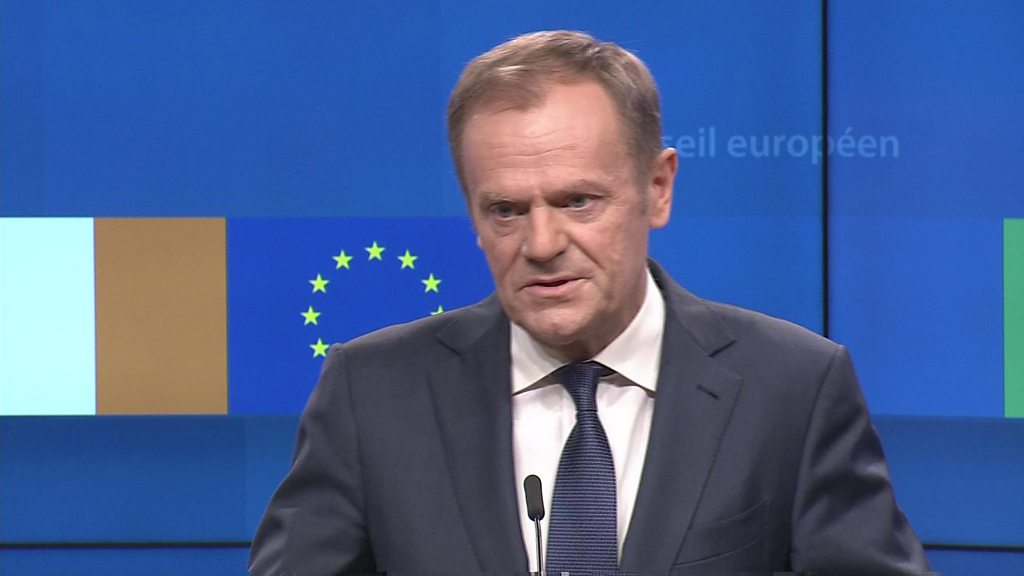 Tusk: Special place in hell for Brexiteers thumbnail