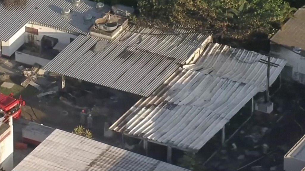 Deadly Brazil football training centre fire