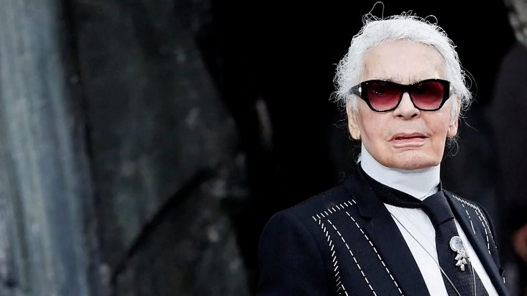 Karl Lagerfeld Iconic Chanel Fashion Designer Dies Bbc News