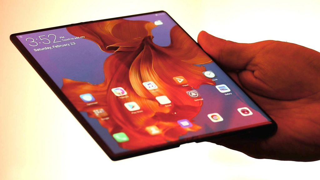 Huawei launches foldable Mate X in China