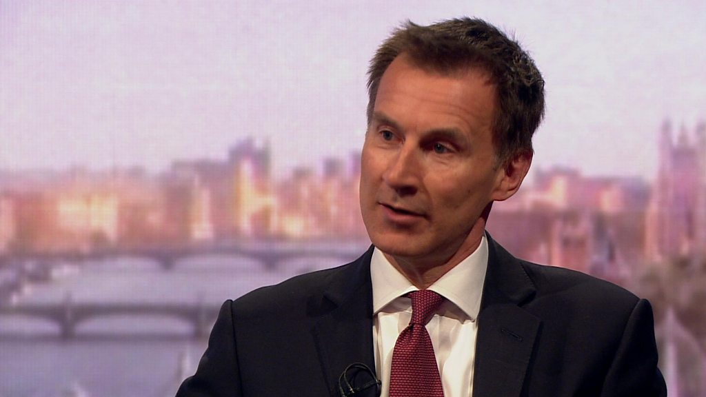 Brexit could be lost if deal rejected, Jeremy Hunt says - BBC News thumbnail