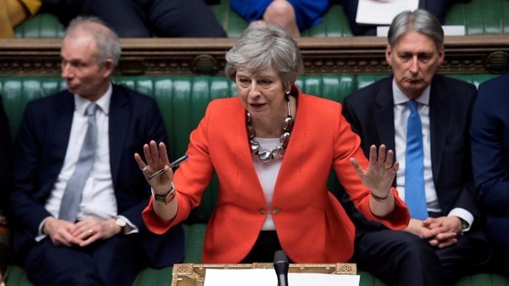 Image result for Brexit: MPs Reject May's Deal By 149 Votes