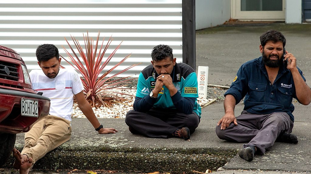 New Zealand Penembakan Image: Christchurch Shootings: 49 Dead In New Zealand Mosque