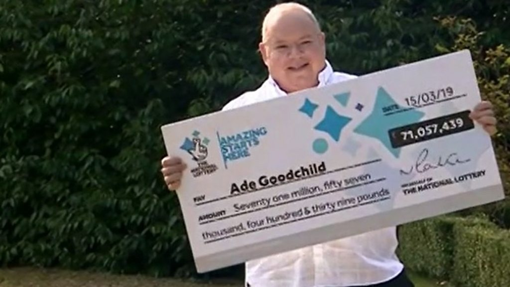 Factory worker scoops £71m lottery win