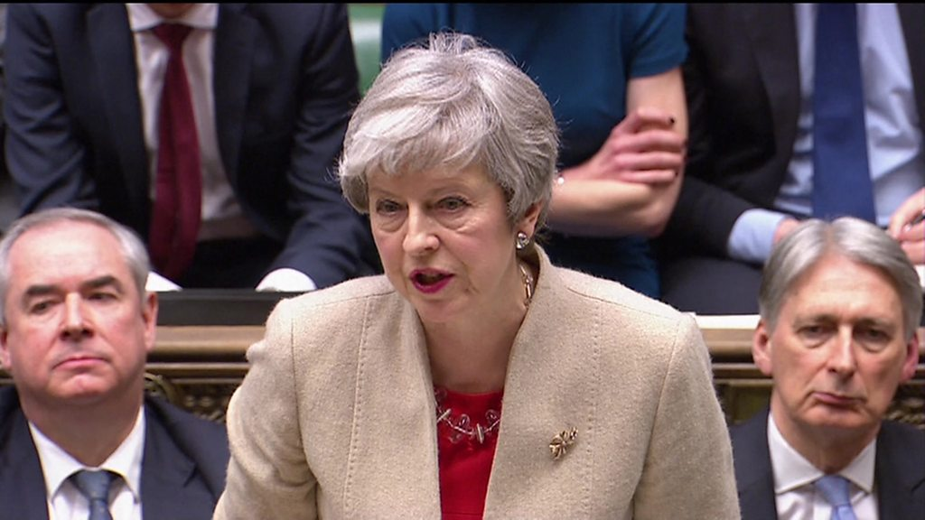 MPs reject May's EU withdrawal agreement