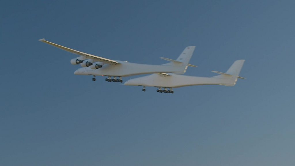 'World's largest plane' takes flight