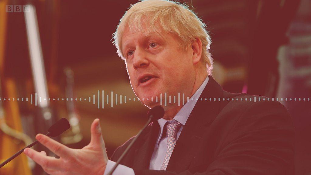 Boris Johnson confirms bid for Tory leadership - BBC News thumbnail