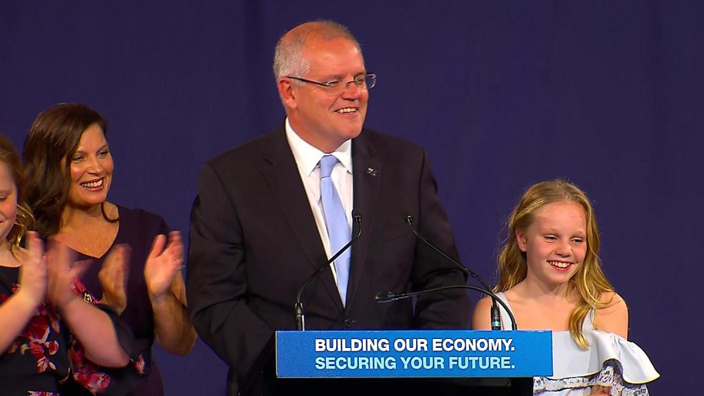 Scott Morrison: How Australia's PM built a 'miracle' election win