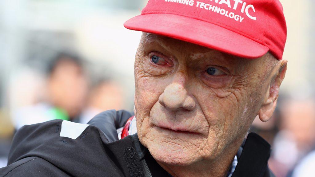 وفاة بطل الفورمولا 1 النمساوي نِكي لاودا عن 70 عاما - BBC News Arabic