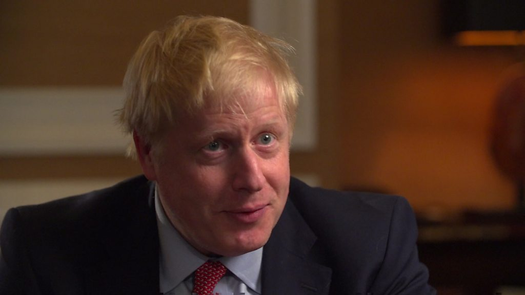 Johnson defends Brexit plan and 'row' silence thumbnail