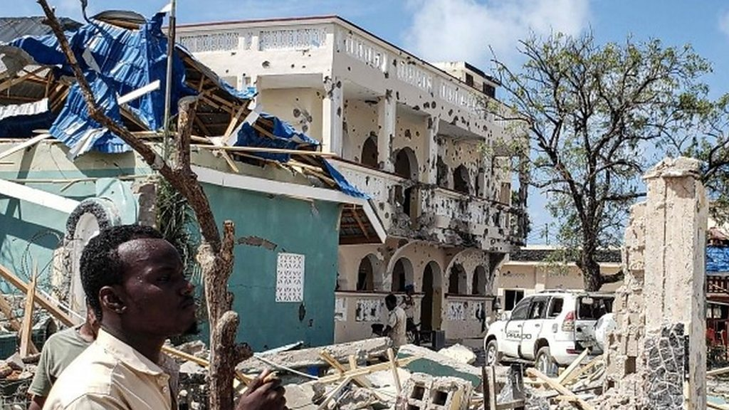 Gunmen storm Somali hotel killing 26 people