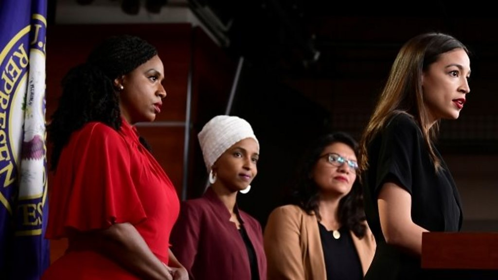 US House condemns Trump's attacks on four congresswomen
