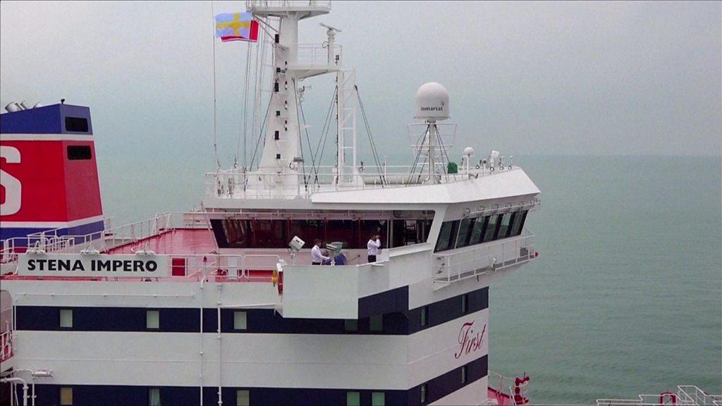 Iran-UK radio exchanges as ship seized
