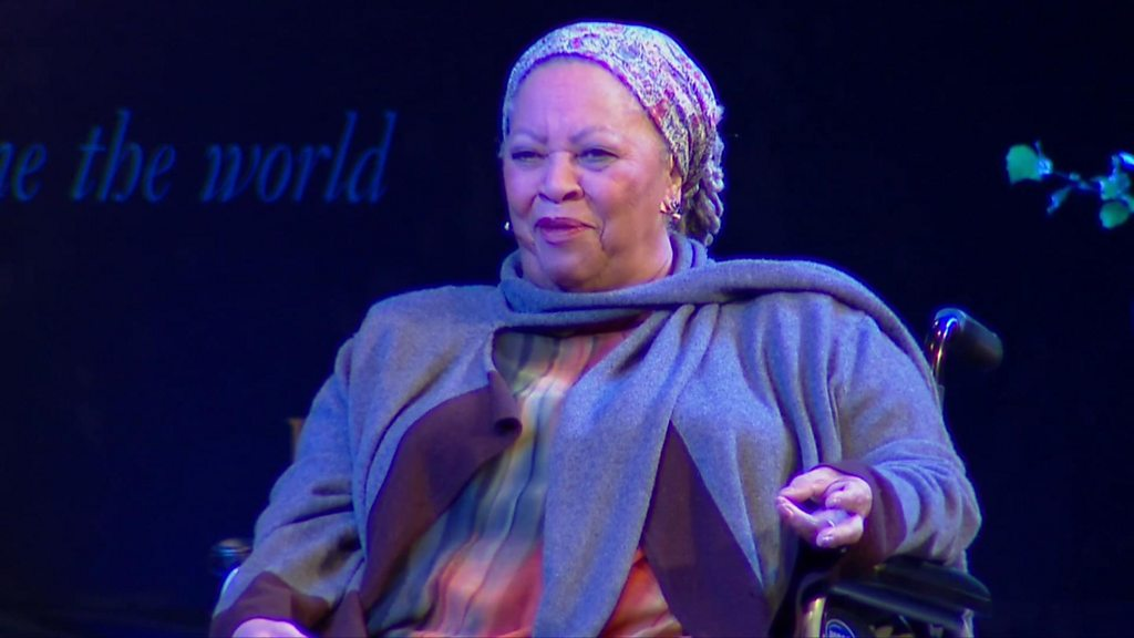 Celebrated author Toni Morrison dies