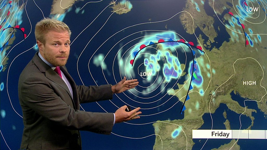 UK weather: Heavy rain and winds set to bring disruption