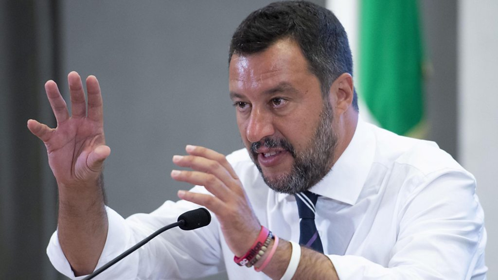 Italy government crisis: Salvini calls for early elections
